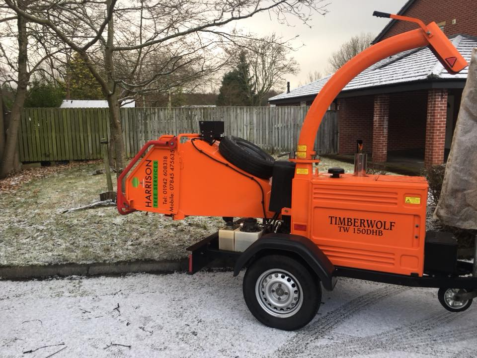 Harrison Tree Services Wood Chipper