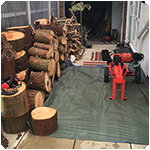 Tree Surgeon Log Splitting Service
